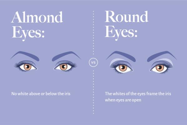 almond-eyes