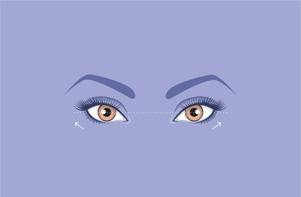 upturned-eyes