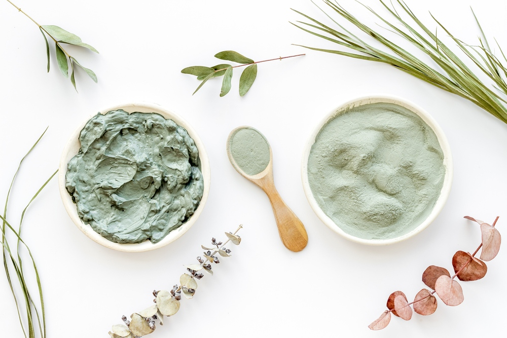 using a clay mask