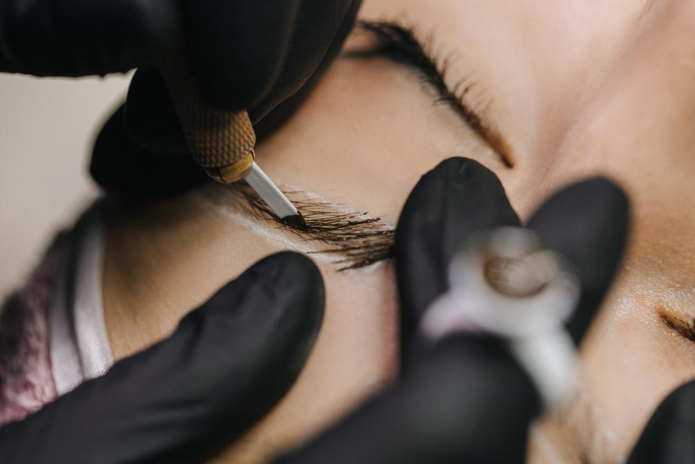 ombre brows vs microblading